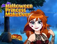 Relooking Princesse d'Halloween