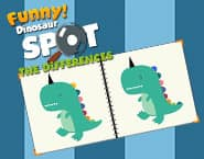 Funny Dinosaur Spot The Difference