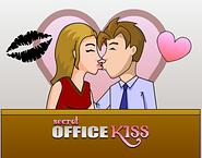 Secret Office Kiss